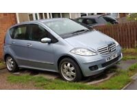 MERCEDES A CLASS 2.0 TDI VERY LOW MILES STARTS AND DRIVES VERY MINOR DAMAGE TO WHEEL CHEAPEST IN UK