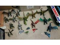 Joblot kids dragon figures dolls toy ghouls