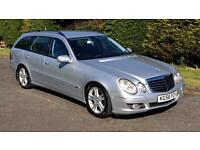 2006 Mercedes E320 CDi Avantgarde Estate with Sat Nav and DVD player