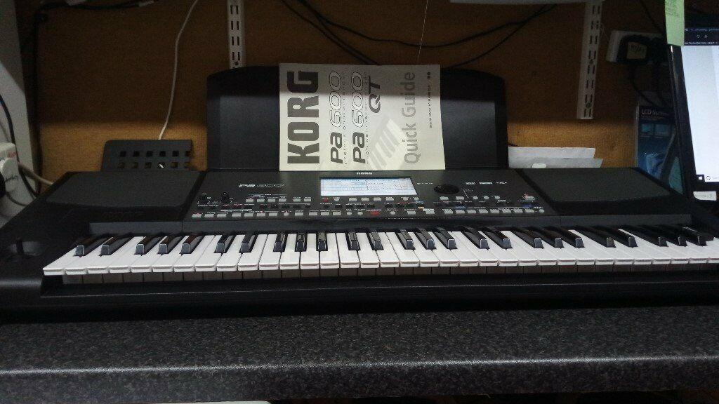 Korg PA600 Keyboard /Arranger, Plays backing tracks from USB Midi MP3or  Karaoke As new fab keyboad | in Newry, County Down | Gumtree