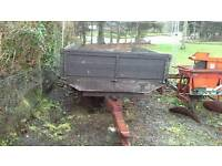 3 Tonne Hydraulic Tipping Trailer