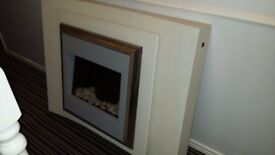 Flamerite Lucca Suite - Electric Fire - Designer - Excellent Condition