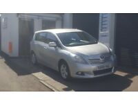 7 SEATER TOTOTA VERSO. 12 MONTHS MOT, SERVICED, 2 KEYS AND A 6 MONTHS WARRANTY INCLUDED