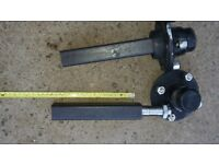 Trailer axle set