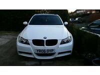 06 E90 BMW 320d M Sport NOW ON EBAY STARTING AT £1 SAT-NAV leathers FSH