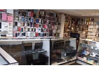 Mobile & computer shop stock for sale,