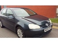 2005 VW GOLF 1.9TDI ,87K MILES,MOT NOVEMBER