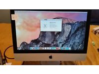 "Apple iMac 21.5""-500GB HDD-8GB Ram-Intel core 2 duo @ 3.06GHz nvidia GeForce 9600-OS X 10.10.1"