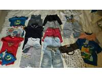 Baby boys 9-12 months summer bundle NEXT