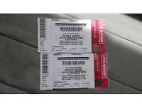 Guns N' Roses tickets for London Olympic Stadium Fri 16th June. Standing or unreserved seating x2