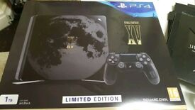 Christmas gift PS4 Final Fantasy 15 limited edition console PlayStation 4 NEW