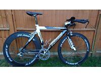 Ribble Crono TT - triathlon / time trial bike, Shimano Ultegra/105 mix with Planet X wheelset 60/80!