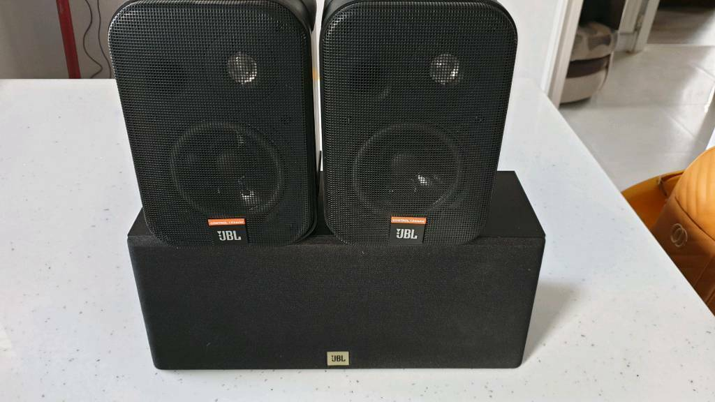 JBL Control 1Xtreme speakers and Centre Speaker | in Omagh, County Tyrone |  Gumtree