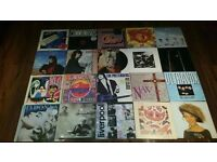 20 x rock/pop 80's record collection job lot LP's