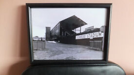 Dunmore stadium greyhound racing track belfast 1970s framed quality 2 big print sign