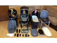 iCandy Peach Pushchair Pram Stroller Travel System Maxi Cosi Car Seat And More