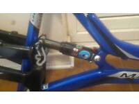2004 Marin Alpine Trail Frame only. + X-Fusion Rear shock. And Seatpost.