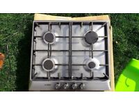 BOSCH**GAS HOB**£110**STAINLESS STEEL**VERY GOOD CONDITION**DELIVERY**NO OFFERS**
