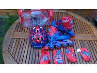 Amazing Spider-man Roller blades / inline skates