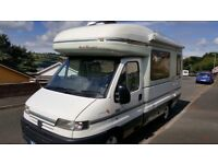 AUTO-SLEEPER TALISMAN. Excellent condition. 2002/Low mileage. Solar Panel. Digital TV Aerial. MOT.
