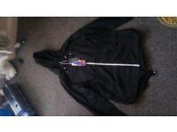 womens black rain coat