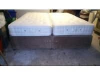 Large double bed with mattress