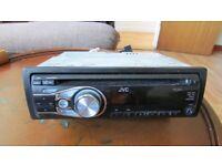 JVC car radio.