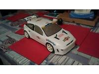 Tamiya ford focus rc car