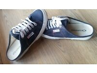 SUPERGA in jeans NEW!!!! never used paid 55£!!! only 15£!!!!
