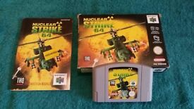N64 NUCLEAR STRIKE BOXED AND COMPLETE!