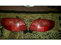 Peugeot 206 rear lights
