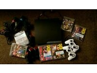 Playstation 3 (slim) and games