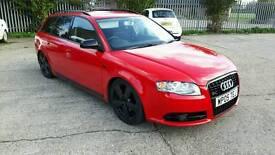 Audi a4 avant estate s line