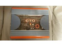 CAR AMPLIFIER JBL GTO 2000 2CH AMP FOR SUBWOOFER AS BRIDGED OR DOOR SPEAKERS AS STEREO