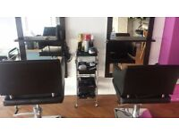 Large salon Mirrors with chairs BARGAIN!!