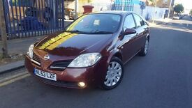 NISSAN PRIMERA MANUAL PETROL BARGAIN £695 PX TO CLEAR