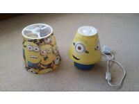 Minion Lampshade + Bedside Lamp