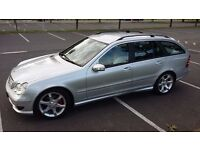 2006 Mercedes-Benz C200 Estate Sport Edition,,Full Mercedes service history, Over 8000 pounds spend,