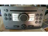 Vaxhall cd radio player
