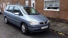 Vauxhall Zafira 2.0DTi Spares of Repair