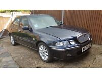 a great car rover 45 with an exceptional 12800 genuine miles