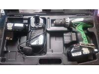 Hitachi 18v Li-ion Hammer Drill