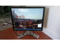 """DELL 2007FPb Monitor + Adjustable Stand 20"""" LCD"""