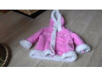Girls winter coat 6 - 9 months Excellent condition