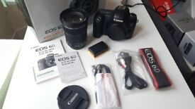Canon 6D Camera + 24-105 IS STM Lens