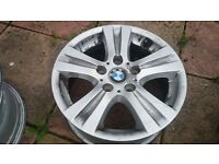 BMW 1 Series 16 inch Alloy Wheels Genuine FULL SET X4