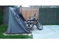 Motorbike Twin Tent/garage