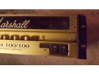 MARSHALL EL34 100/100 POWER AMP (RACK)
