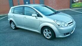 TOYOTA COROLLA VERSO 2.2 D4D DIESEL 2006 MODEL/FULLY TINTED GLASS/6 SPEED 95K MILE / FSH /2750