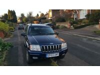 Jeep grand cherokee 4x4 service history low mileage! Long mot